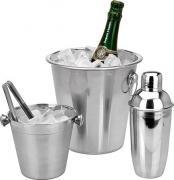 Набор для бармена - ведро для вина, шейкер, емкость для льда Koopman A12401030 [ID22979]