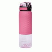 Водородно-минеральная бутылка Vione Mineral Bottle С розовый вставкой розовая