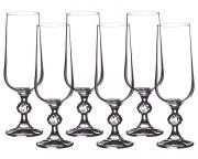 Набор бокалов для шампанского Клаудия Crystalite Bohemia A27565