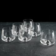 Набор бокалов для бренди (6 штук по 310 мл Bohemia Crystal, Чехия)