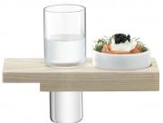 Набор сервировочный из стопки и подставки Vodka Solo LSA International