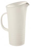 Кувшин с крышкой Tierra 1,8 л Guzzini молочно-белый