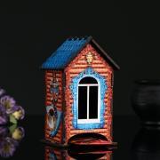 """Чайный домик """"Самовар"""", 9,8x9,8x17,4 см"""