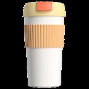 Термокружка Радуга Xiaomi Kiss Kiss Fish Rainbow 490ml orange white