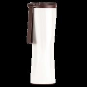 Термокружка Xiaomi Kiss Kiss Fish MOKA Smart Cup OLED 430мл Белая с силиконовым ремешком S-U45W
