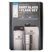 Набор Stanley Shot Glass Flask, стопки, футляр, фляга, белый