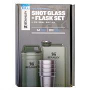 Набор Stanley Shot Glass Flask, стопки, футляр, фляга, зелёный