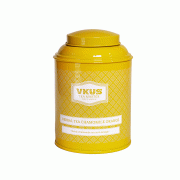 Банка VKUS для чая, ромашка с апельсином