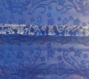 Скалка для мастики/марципана акриловая текстурная Цветочный мотив MJ D012S