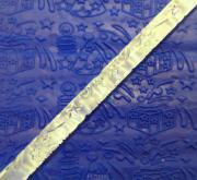 Скалка для мастики/марципана акриловая текстурная Рождественская сказка MJ 529