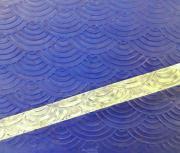 Скалка для мастики/марципана акриловая текстурная Оборки MQDO83S