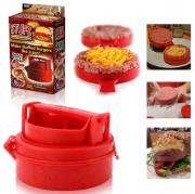 Устройство для приготовления бургеров и котлет с начинкой STUFZ (Красный)