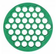 Пельменница пластмассовая диаметр 25 см, диаметр ячейки 2,5 см цвет: зелёный