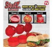 Пресс для приготовления котлет с начинкой 3в1 Stufz Sliders