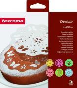 """Трафареты для украшения выпечки Tescoma """"Delicia"""", диаметр 21 см, 6 шт"""