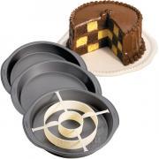 Форма металлическая Шахматная доска внутри Wilton 2105-9961