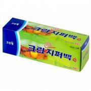 CW плотные полиэтиленовые пакеты на молнии 25 х 30 см 50 штук