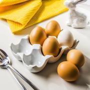 Подставка для яиц Excellent Houseware фарфоровая