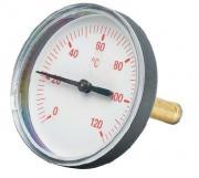 Термометр Meibes осевой красный
