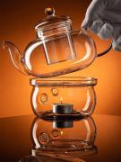 """Стеклянная подставка для чайника """"Lecafeier ACS101-125"""", диаметр 12,5 см"""