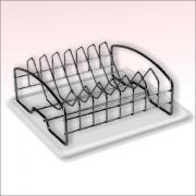 Сушилка для посуды с поддоном - Мультидом