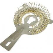 Стрейнер с 2-мя ушками; сталь нерж.; D=8,L=14см; золотой COM- 02030539