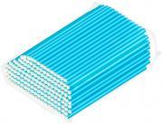 Трубочки бумажные Gratias голубые 200шт