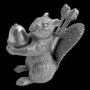 Набор пик для канапе БЕЛКА от Au Bain Marie, олово, серебро, 6 шт.