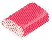 Трубочки бумажные Gratias розовые 200шт
