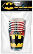 Бумажные стаканы Batman 250мл 6шт