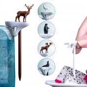 Набор шпажек-маркеров для бокалов cool animal Qualy