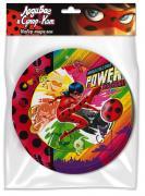 Бумажные тарелки Леди Баг и Супер-Кот 6шт