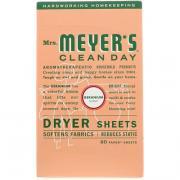 Салфетки для сушильной машины, запах герани 80 щт