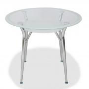 Стол обеденный 90*75 S603 Super white line 90