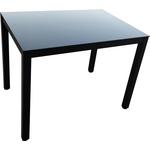 Стол TetChair Valio (mod. DT1165-1) металл/стекло черный