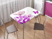 Стол кухонный прямоугольный Орхидея