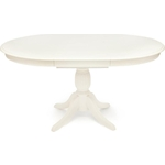 Стол обеденный TetChair Leonardo (Леонардо) дерево гевея/мдф pure white (402)