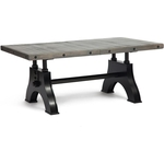 Стол TetChair Secret De Maison CHEVALET (mod. 4290-30 182+45х106х75) серый/черный