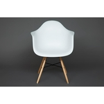 Кресло TetChair Secret De Maison CINDY (EAMES) (mod. 919) дерево береза/металл/сиденье пластик белый/white with natural legs