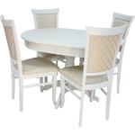 Набор мебели для кухни Leset Вермонт 2Р слоновая кость