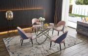 Стол Miracle + 4 стула Holly