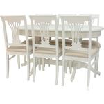 Набор мебели для кухни Leset Каролина 1Р слоновая кость