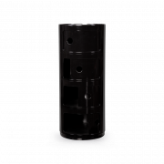 Тумба из пластика черного цвета