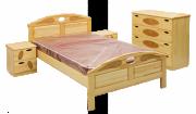 Кровать Галатея (сосна)-Муром