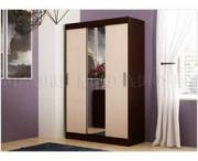 Шкаф 3-х дверный с зеркалом Бася