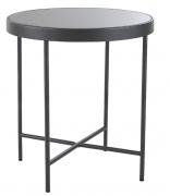 Столик кофейный Benigni, серый, Berg 42,5х46 см