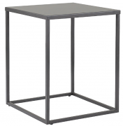 Столик кофейный Velluto, Berg антрацитовый, 37х37х45 см