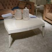 Журнальный стол отделка белый блестящий лак FRATELLI BARRI Rimini FB.ET.RIM.227