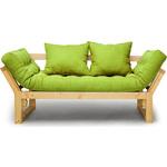 Кушетка Anderson Амбер сосна-зеленая рогожка
