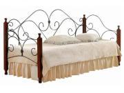 Кровать TetChair Sonata Wood slat base Day bed, красный дуб/черный